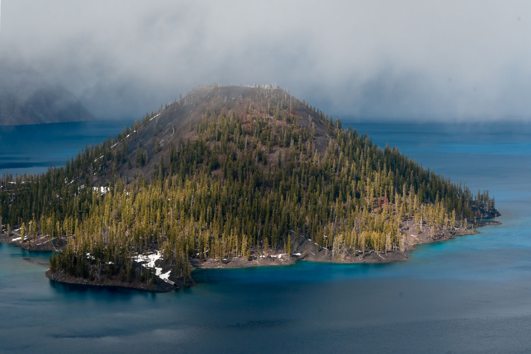 Photo of Discovery Point Trail at Crater Lake Nation Park, Oregon